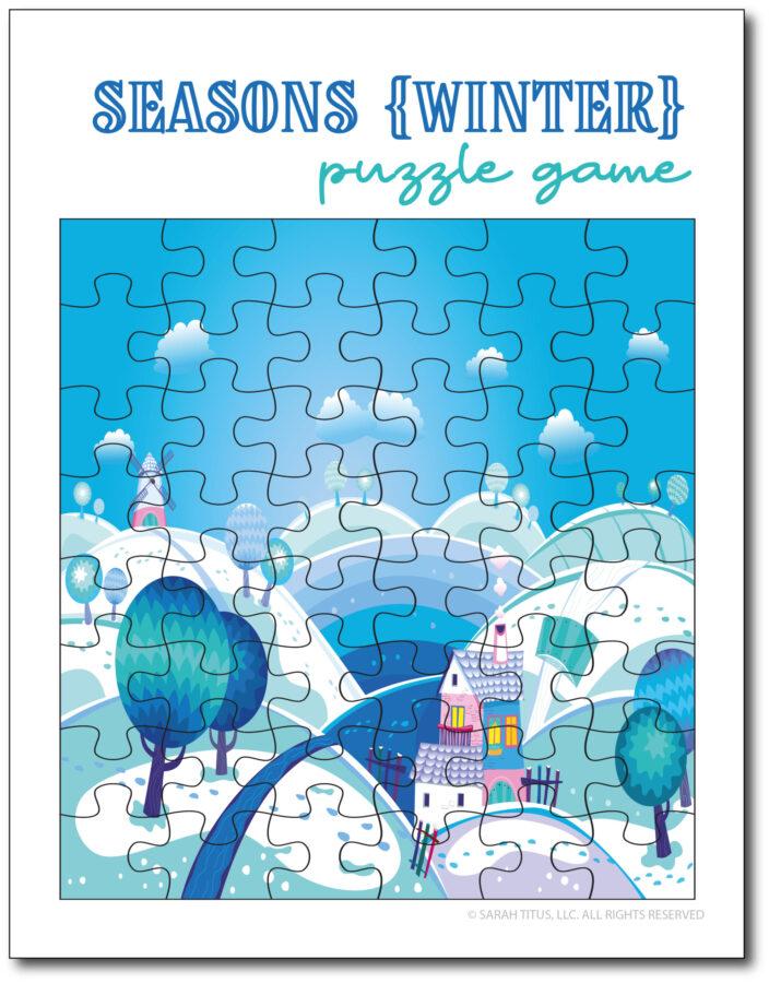 Winter-Season-Puzzle