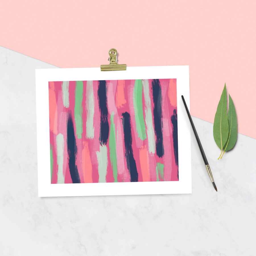 OhSoLovely-Linear-Abstract-Wall-Art
