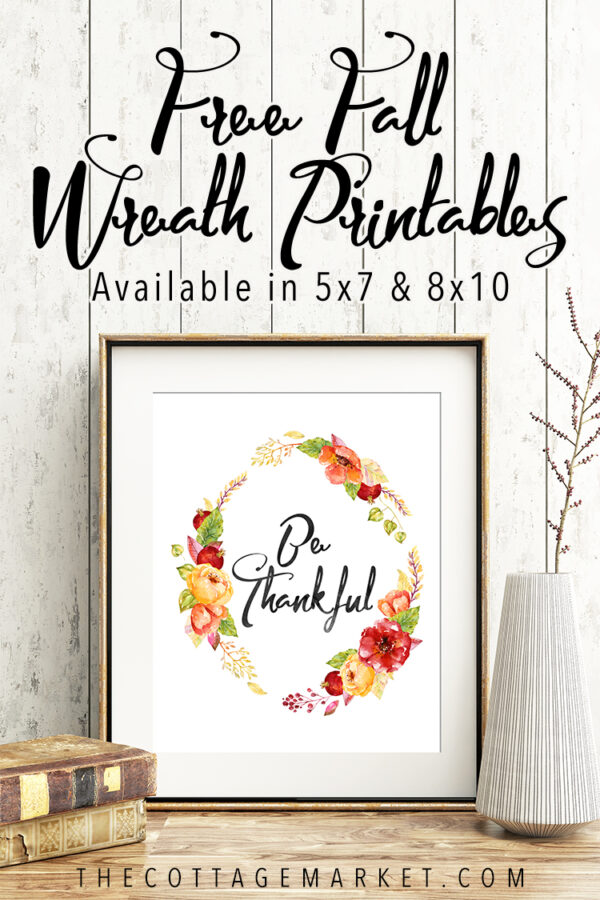 TCM Fall Wreath Printables