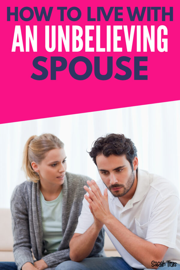 Do you live with an unbelieving spouse? Four years I continued to live with an unsaved spouse. A man who hated me and my faith. Here's 5 things you NEED to know!