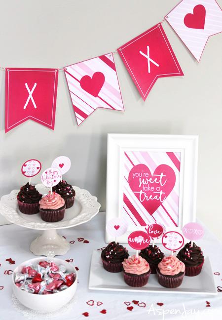 Valentine's Printables Set
