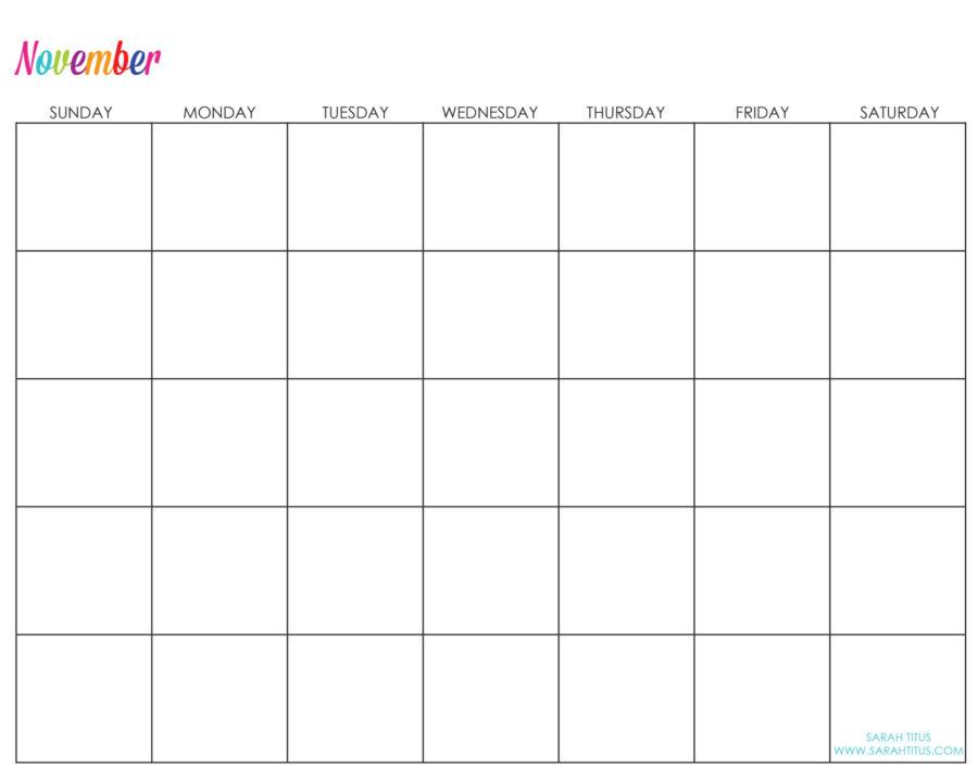 Undated-November-Calendar