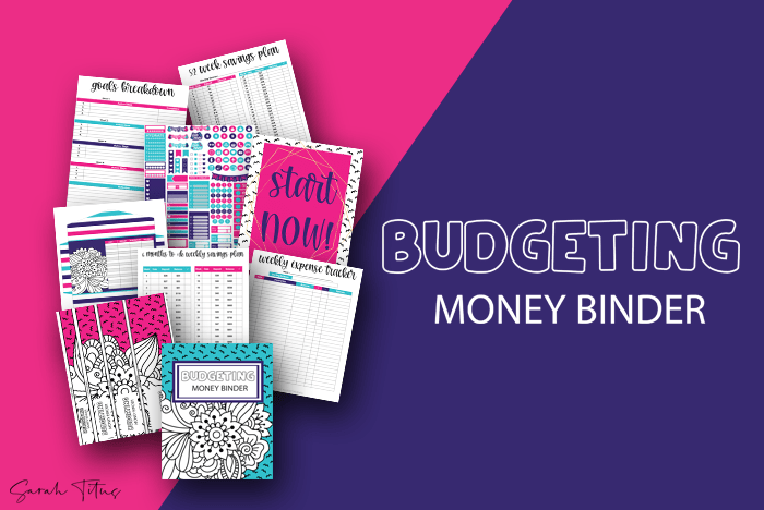 Budgeting Money Binder Sarah Titus
