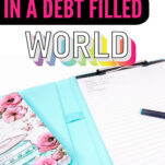 Wondering how to become debt-free in a debt-filled world? Here's the simple yet effective answer for living without debt!