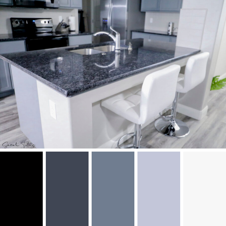 Color Palette - Modern Home Ideas: How to Decorate With Gray Walls