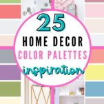 25 Home Decor Color Match Palettes