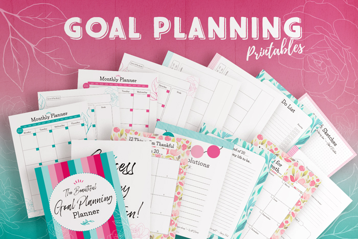 Goal Planning Printables