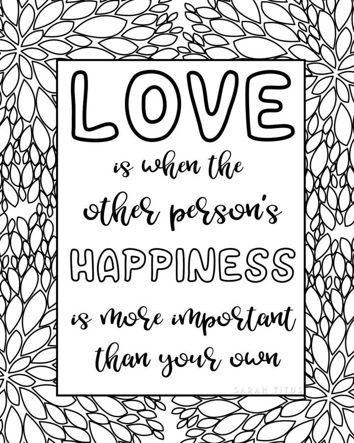 Love Happiness Wall Art