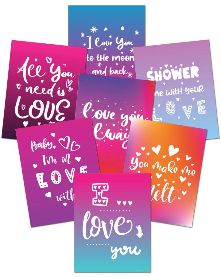 Love Valentine Wall Art