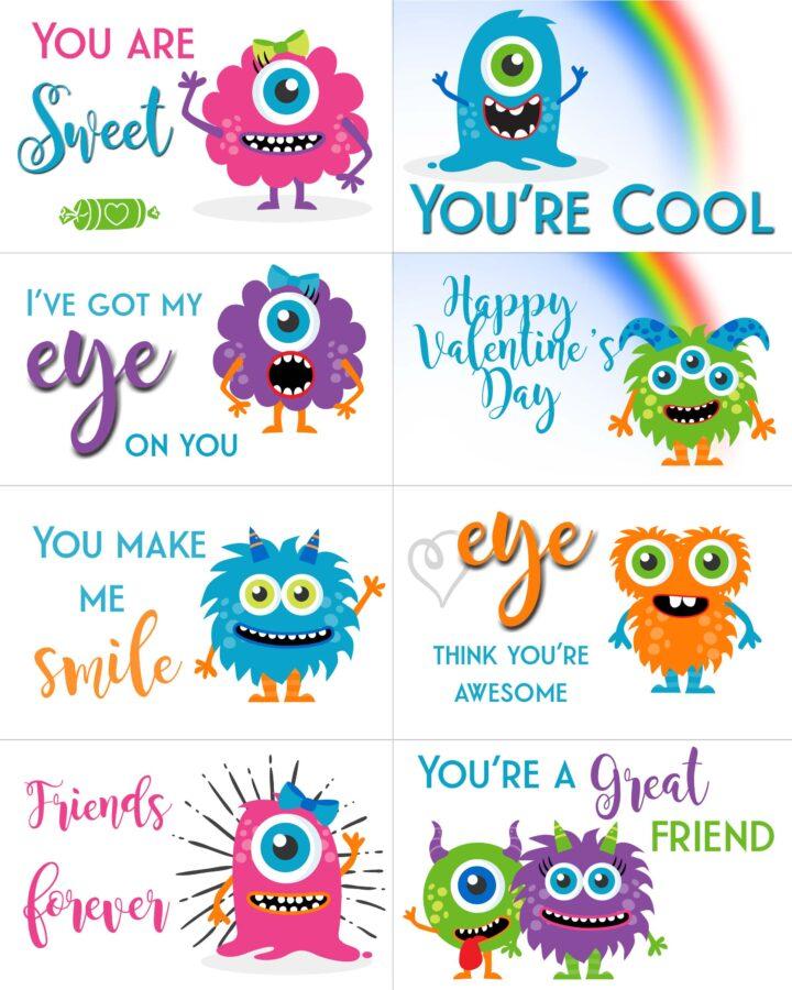 Girls Valentine's Day Cards