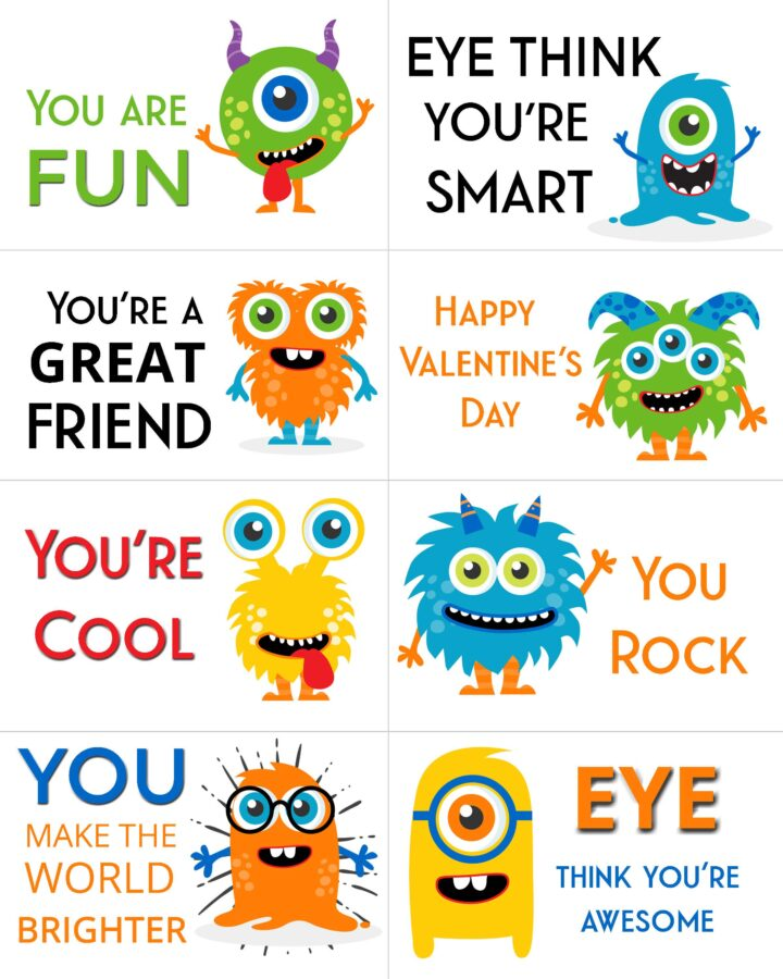Boys Valentine's Day Cards