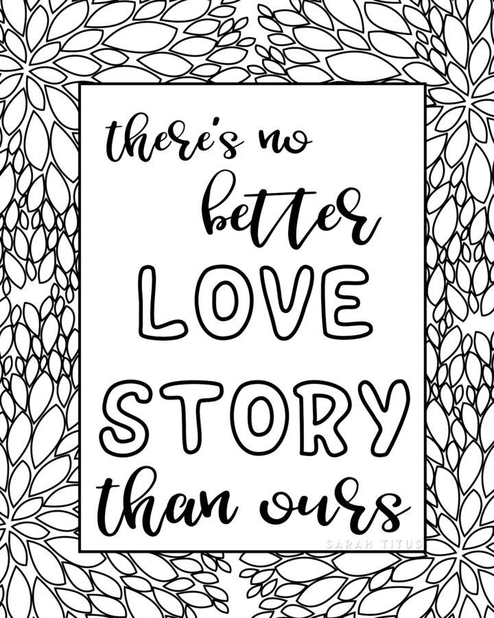 Love Story Wall Art