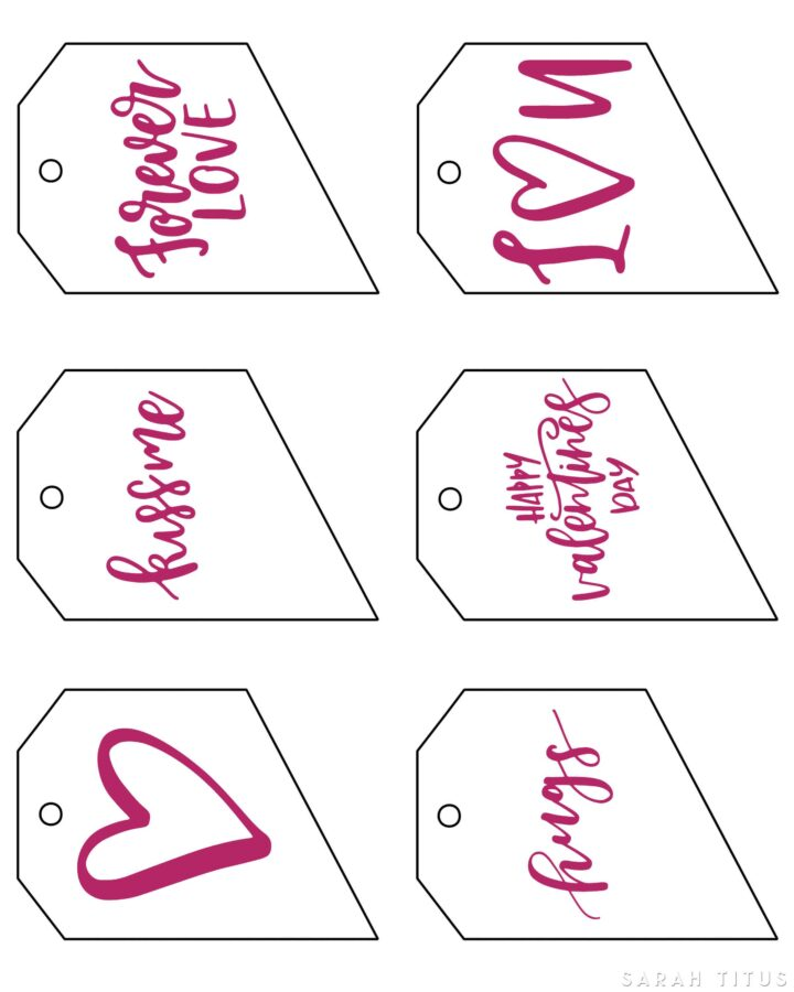 Valentine's Gift Tags Top 1