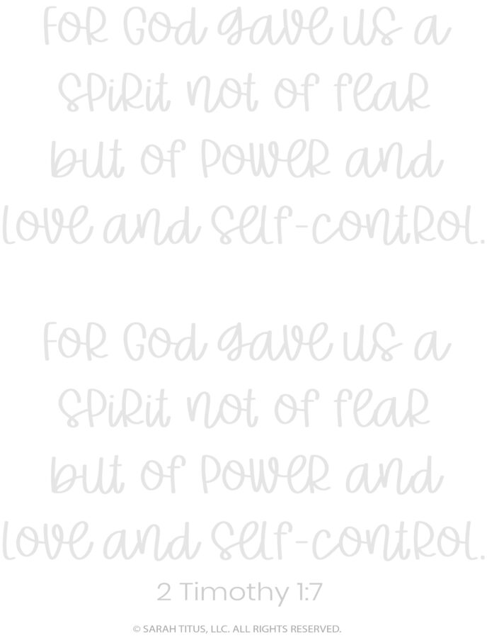 Better Hand Lettering Scripture Worksheets Page 13