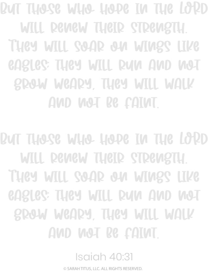 Better Hand Lettering Scripture Worksheets Page 14