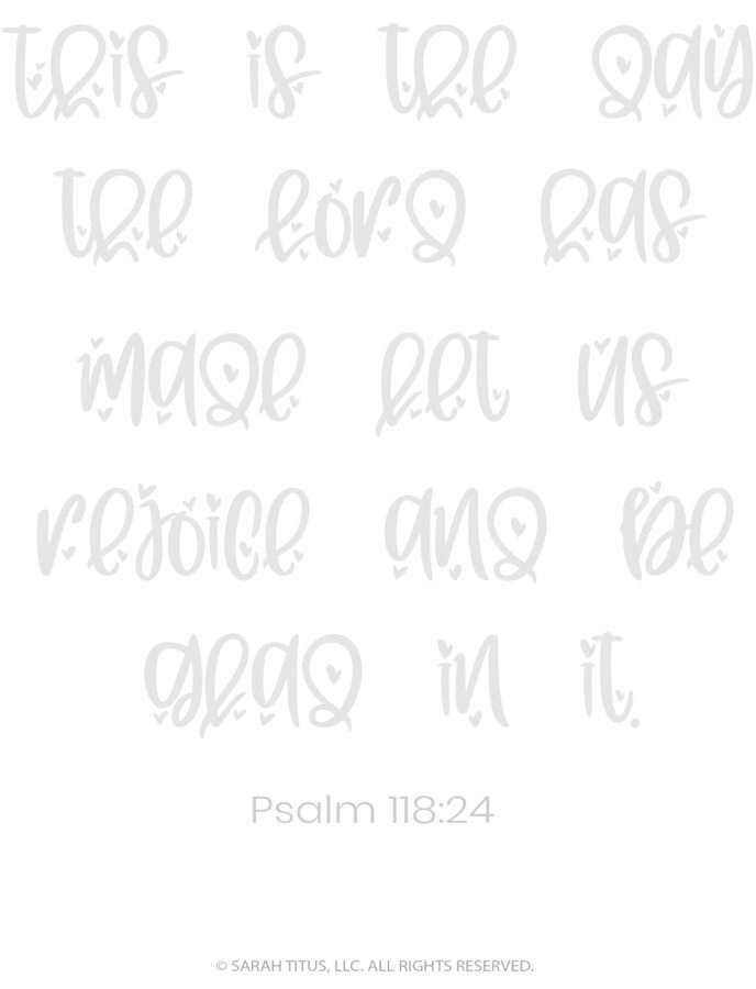 Better Hand Lettering Scripture Worksheets Page 18