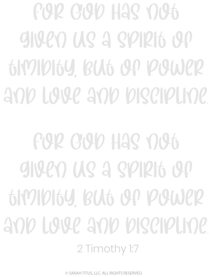 Better Hand Lettering Scripture Worksheets Page 24