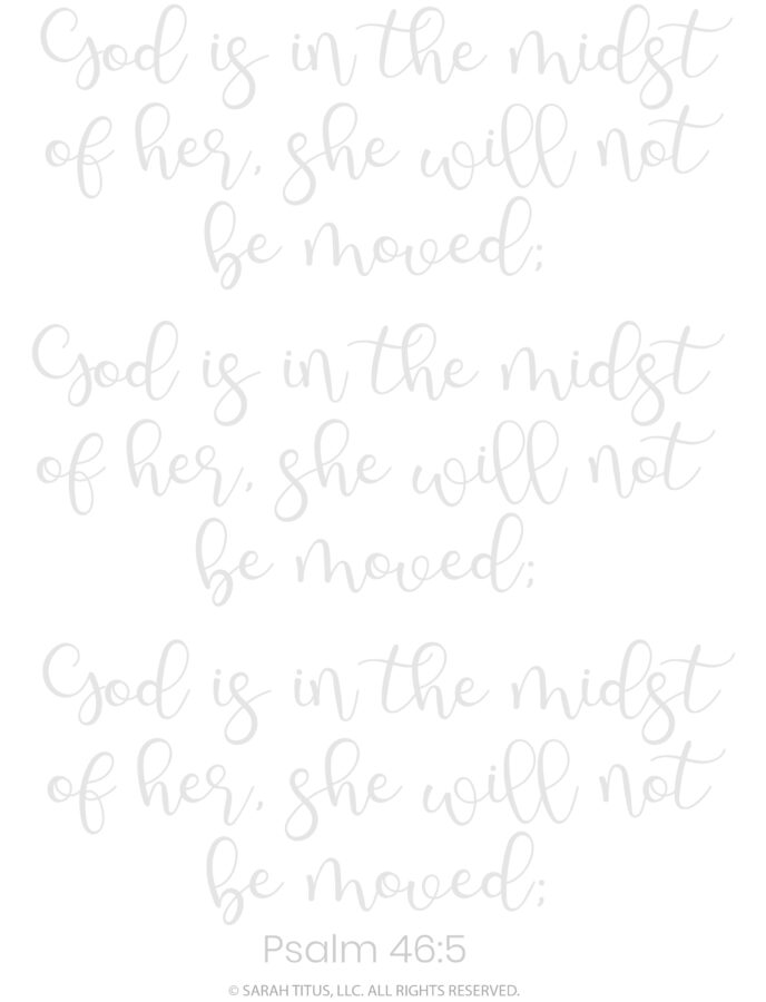 Better Hand Lettering Scripture Worksheets Page 25