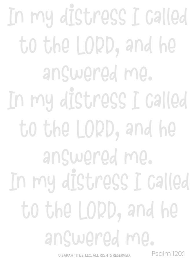 Better Hand Lettering Scripture Worksheets Page 4