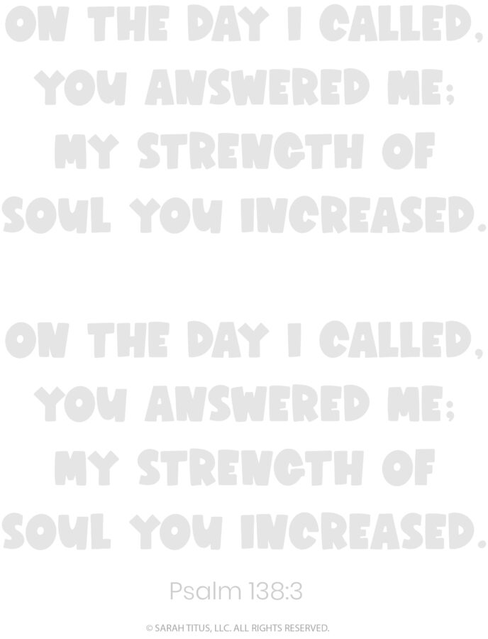 Better Hand Lettering Scripture Worksheets Page 9