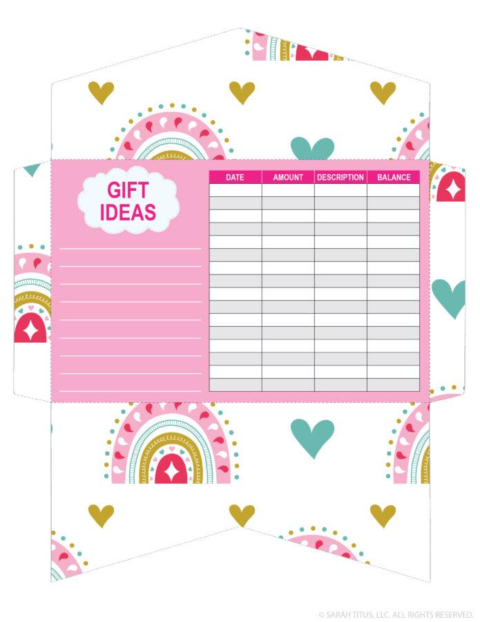 Valentine's Day Cash Envelope