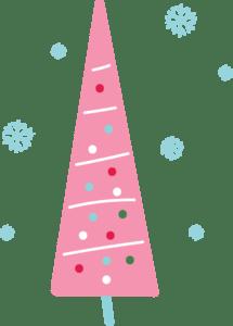 Christmas Tree Pink