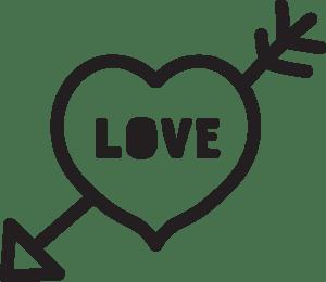 Love Heart Doodle