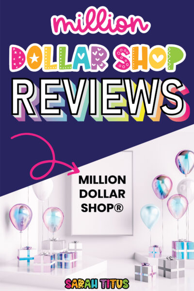 Looking for Sarah Titus Million Dollar Shop reviews? Here's a collection of the best reviews, interviews, blog posts, and articles for top products & courses for her MDS site!