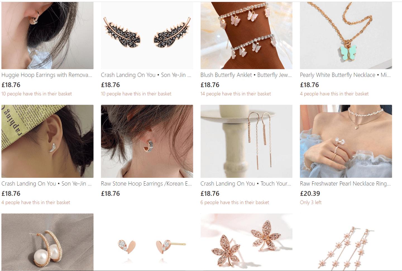 korean drama jewellry