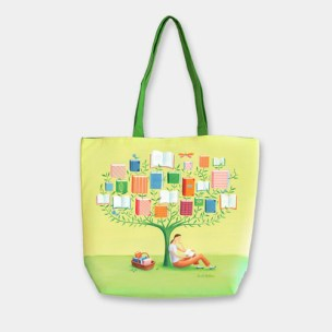 Barnes & Noble - Book Tree Tote Bag