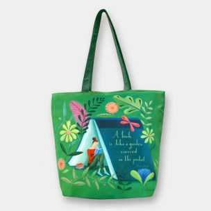 Barnes & Noble - Garden Reading Tote Bag