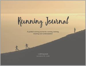 4 Week Running Journal
