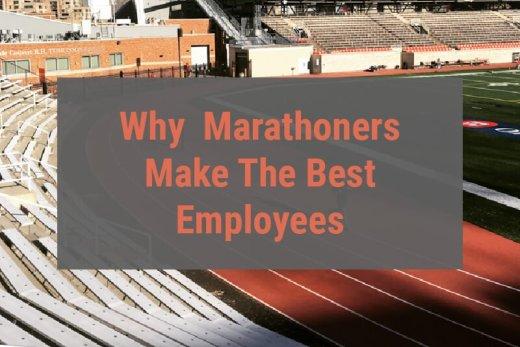 Marathoners make good employees