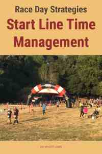 Start Line Time Management