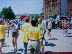 Grandmas Marathon Finish Line