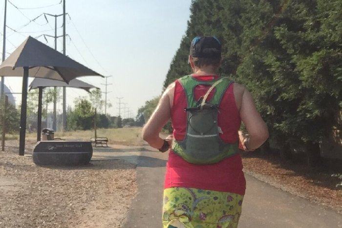 Hydration Pack On Race Day