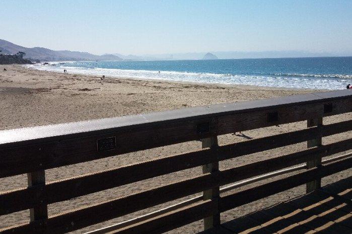 A pier over the ocean