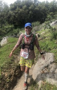 Sara Kurth at the American River 50