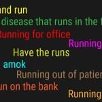 Running Phrases