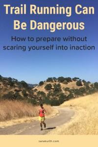 Risks of trail running