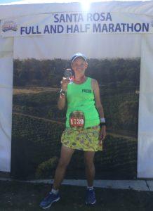 Santa Rosa Marathon finish