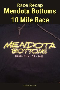 Mendota Bottoms 10 mile race
