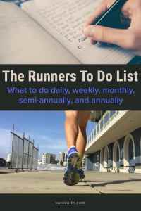 Runners To Do List