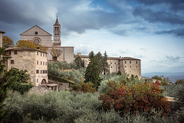 Assisi welcome card