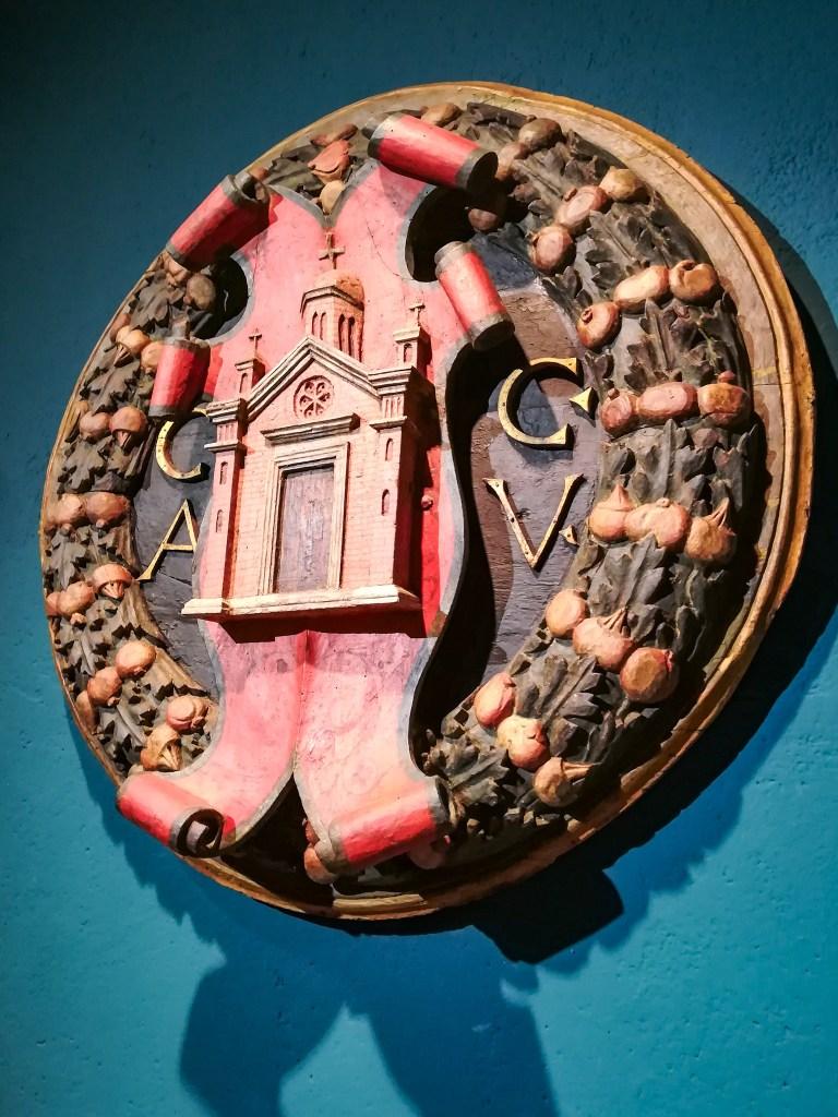 Pinacoteca Civica | Stemma ligneo cittadino di Giovanni di Piergiacomo