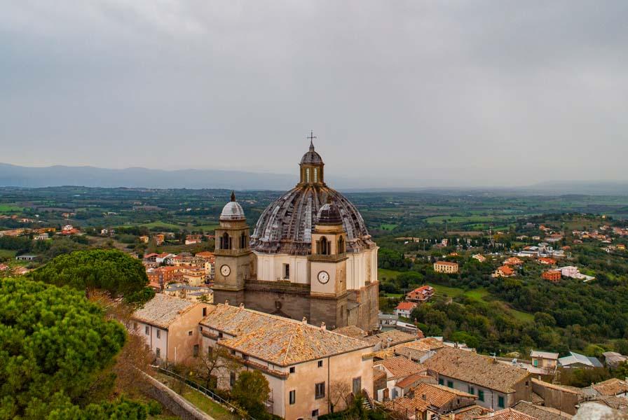 Cattedrale di Santa Margherita dall'alto - Montefiascone