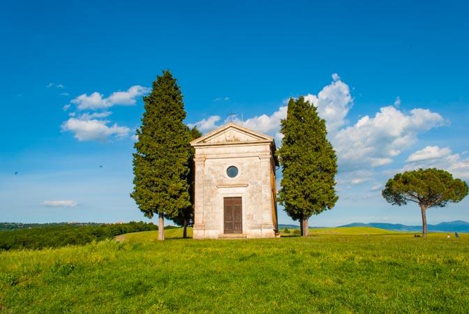 La cappella della Madonna della Vitaleta_
