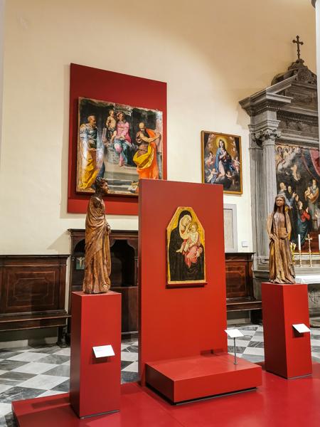 Museo Diocesano Volterra - interno