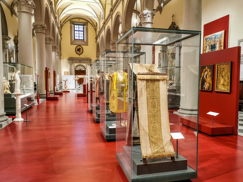 Museo Diocesano Volterra - sala interna