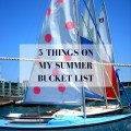 Sara Magnolia - summer bucket list